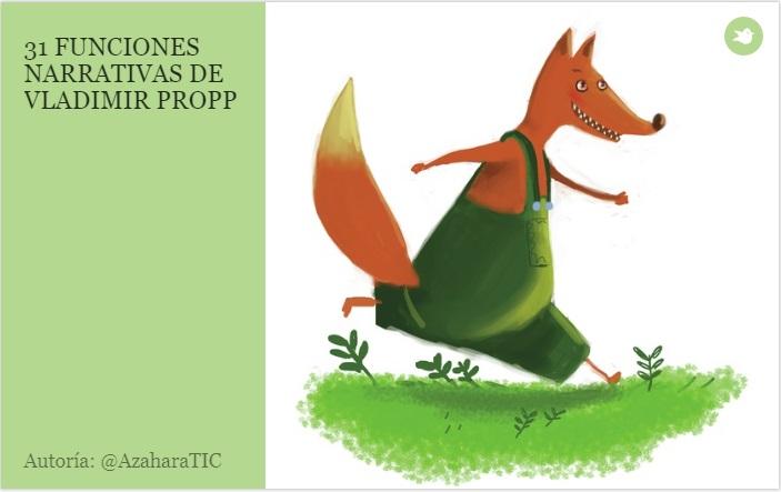 31 funciones narrativas de Propp con Storybird